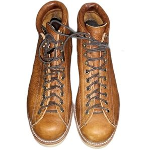 Chippewa Leather Lace Up Handcrafted in USA Boots